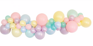 Rainbow DIY Balloon Garland