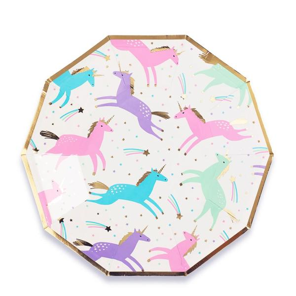 Magical unicorn small plates - Brown Sugar Party Boutique