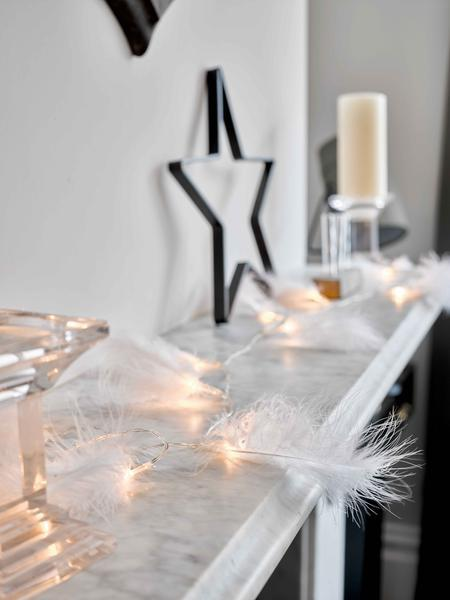 White Feather LED Lights