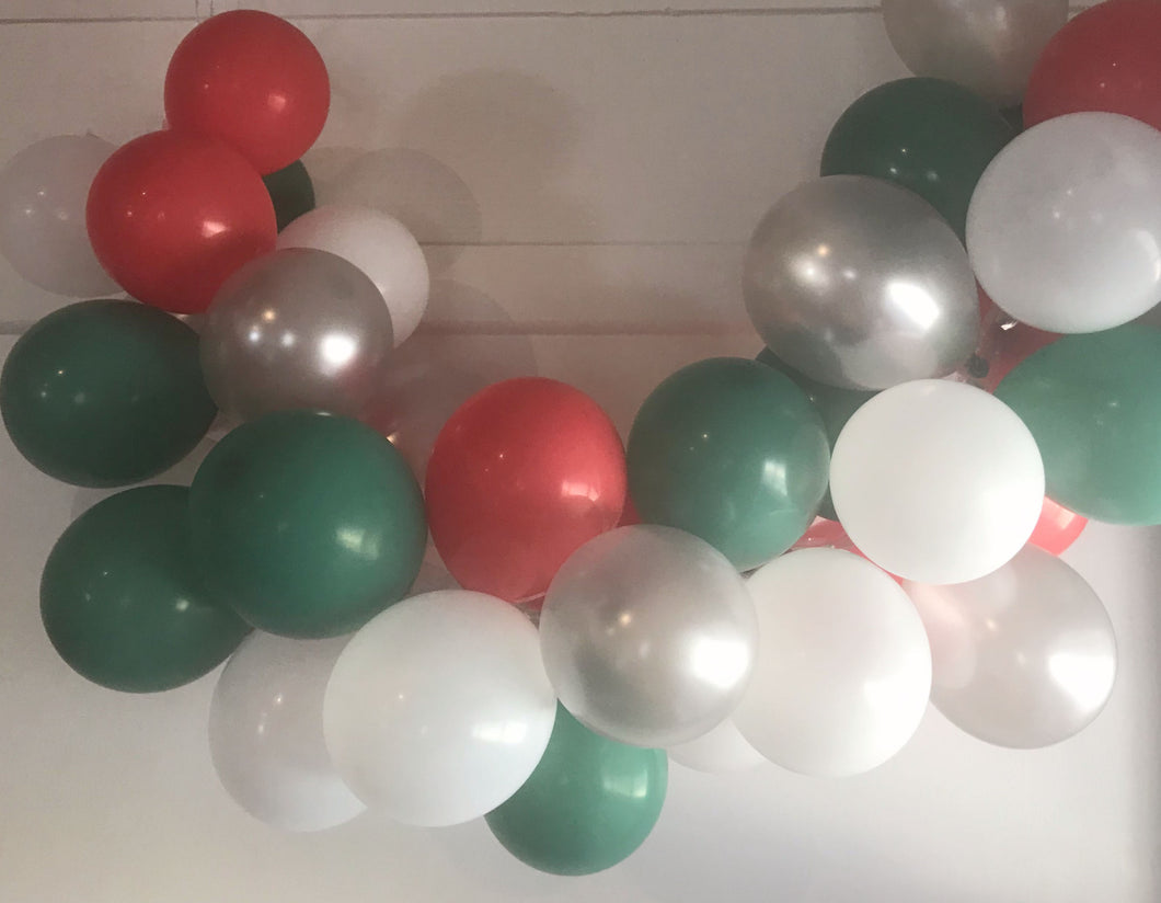 Jingle Bells Mini Balloon Garland Set