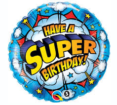 Have a Super Birthday Foil Balloon - Brown Sugar Party Boutique