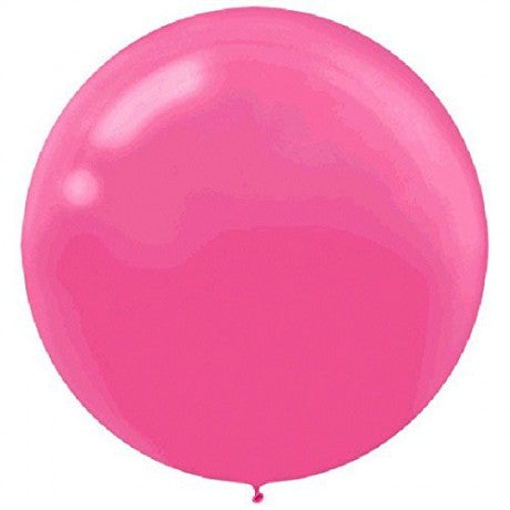Bright pink latex balloon - XL - Brown Sugar Party Boutique