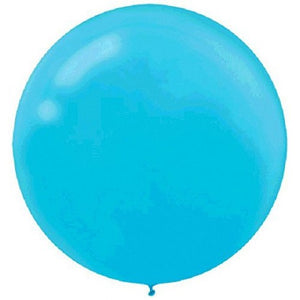Caribbean Blue latex balloon - XL - Brown Sugar Party Boutique