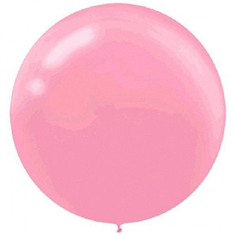 Pink latex balloon - XL
