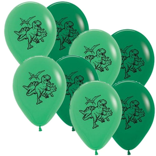 Dino Balloon Bunch - 8pk