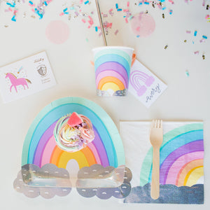 Over the rainbow napkins - Brown Sugar Party Boutique