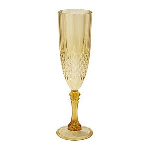 Party Porcelain Champagne Flute - Brown Sugar Party Boutique