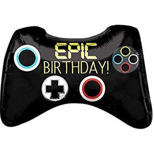 Epic game console balloon - Brown Sugar Party Boutique