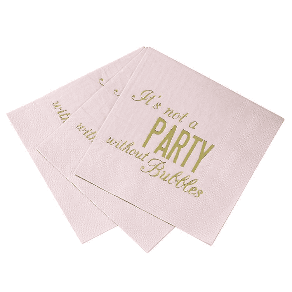 Glitterati Cocktail Napkin - Brown Sugar Party Boutique