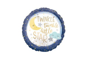 Twinkle Twinkle Little Star Round Balloon