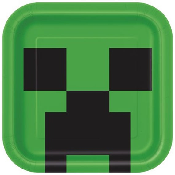 Minecraft Creeper Plate