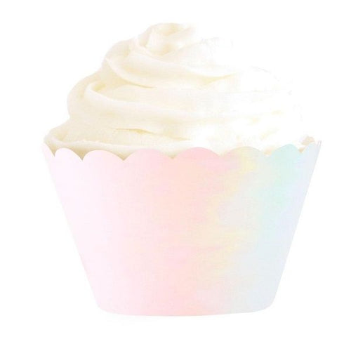 Iridescent Cupcake Wrapper
