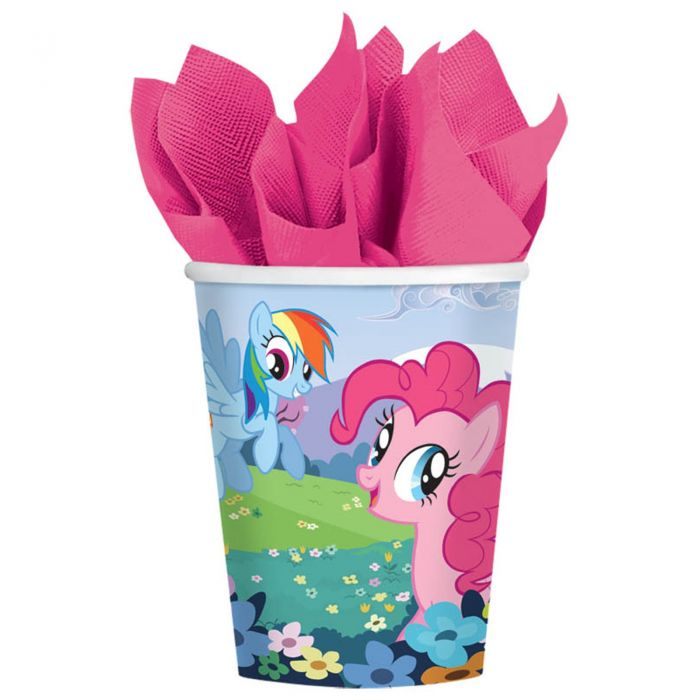 My little pony cups - Brown Sugar Party Boutique