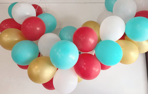 Modern Fiesta Mini Balloon Garland Set