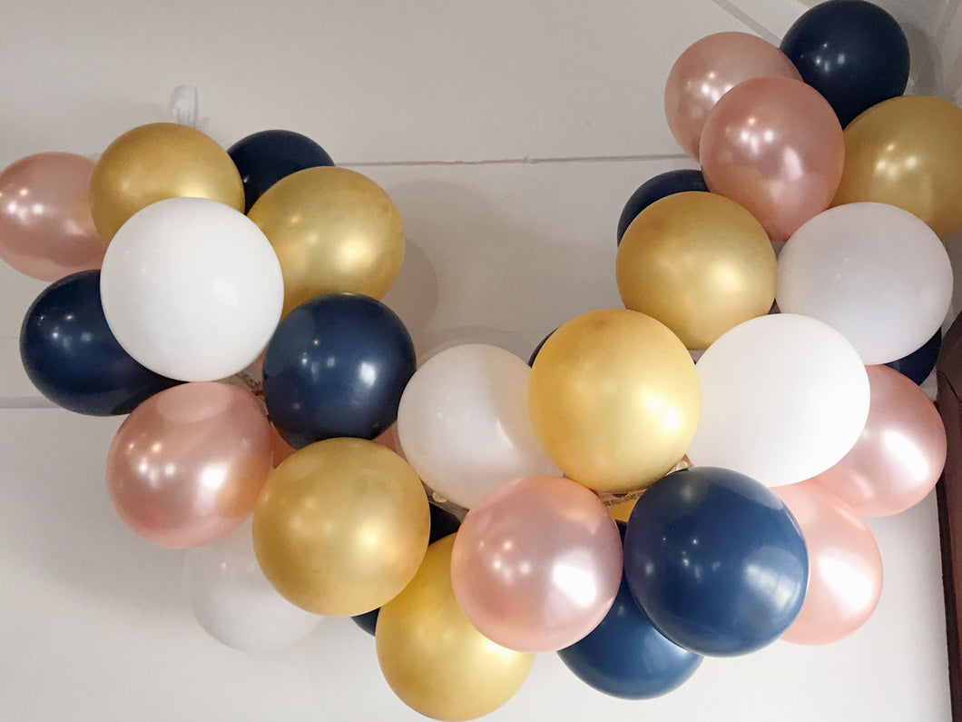 Modern Nautical Mini Balloon Garland Set