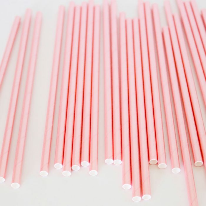 Light Pink Straws