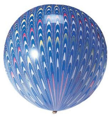 Peacock Pattern Balloons - 2 pack