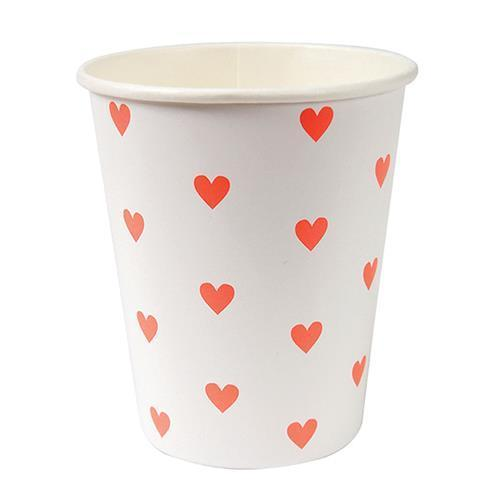 Love heart cups