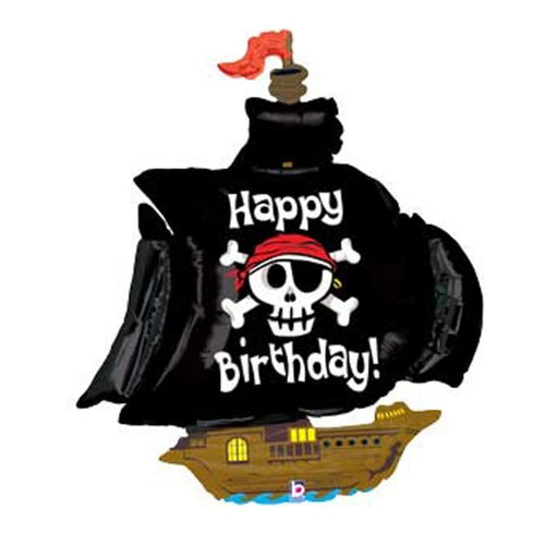 Happy Birthday Pirate Ship