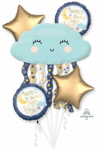 Twinkle Twinkle Cloud Ballon Bunch