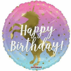 Happy Birthday Unicorn Balloon - Brown Sugar Party Boutique