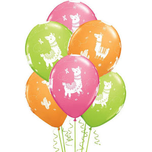 Llama Latex Balloons - Brown Sugar Party Boutique