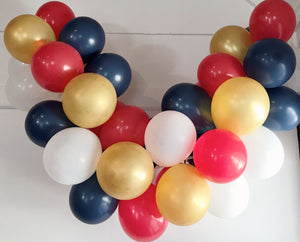 Superhero Mini Balloon Garland Set