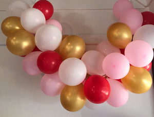 Sweet Love  Mini Balloon Garland Set