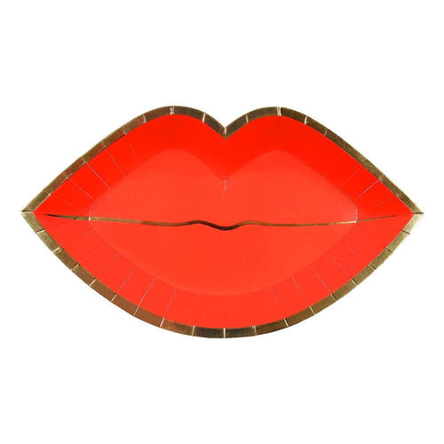 Red Lips Plate