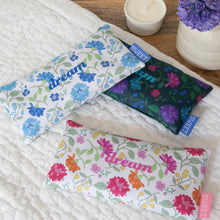Load image into Gallery viewer, Dream Floral Lavender Eye Pillow