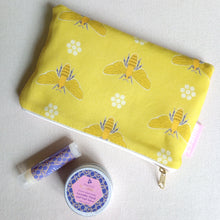 Load image into Gallery viewer, Queen Bee Mini Make Up Bag