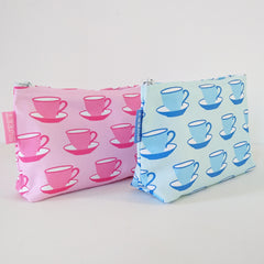 Teacups Make-up Bag - 50% OFF!
