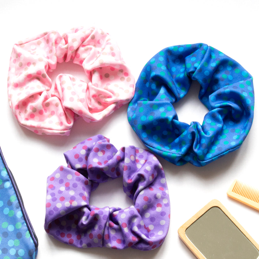 Confetti Stretch Scrunchie
