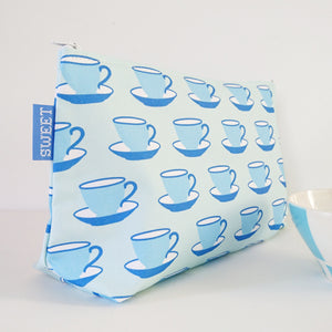 Teacups Washbag - 70% OFF!
