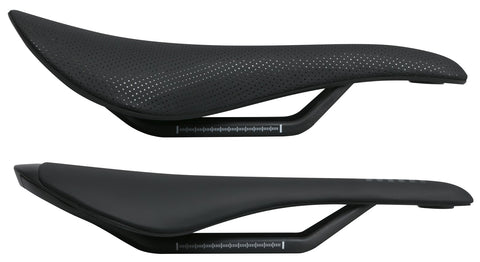 Bike saddle profiles front to back vary.  Most of us prefer one over the other.