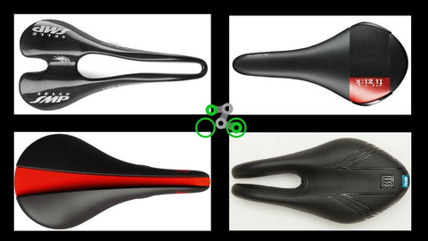 Bike saddles come in different shapes. Which is right for you?