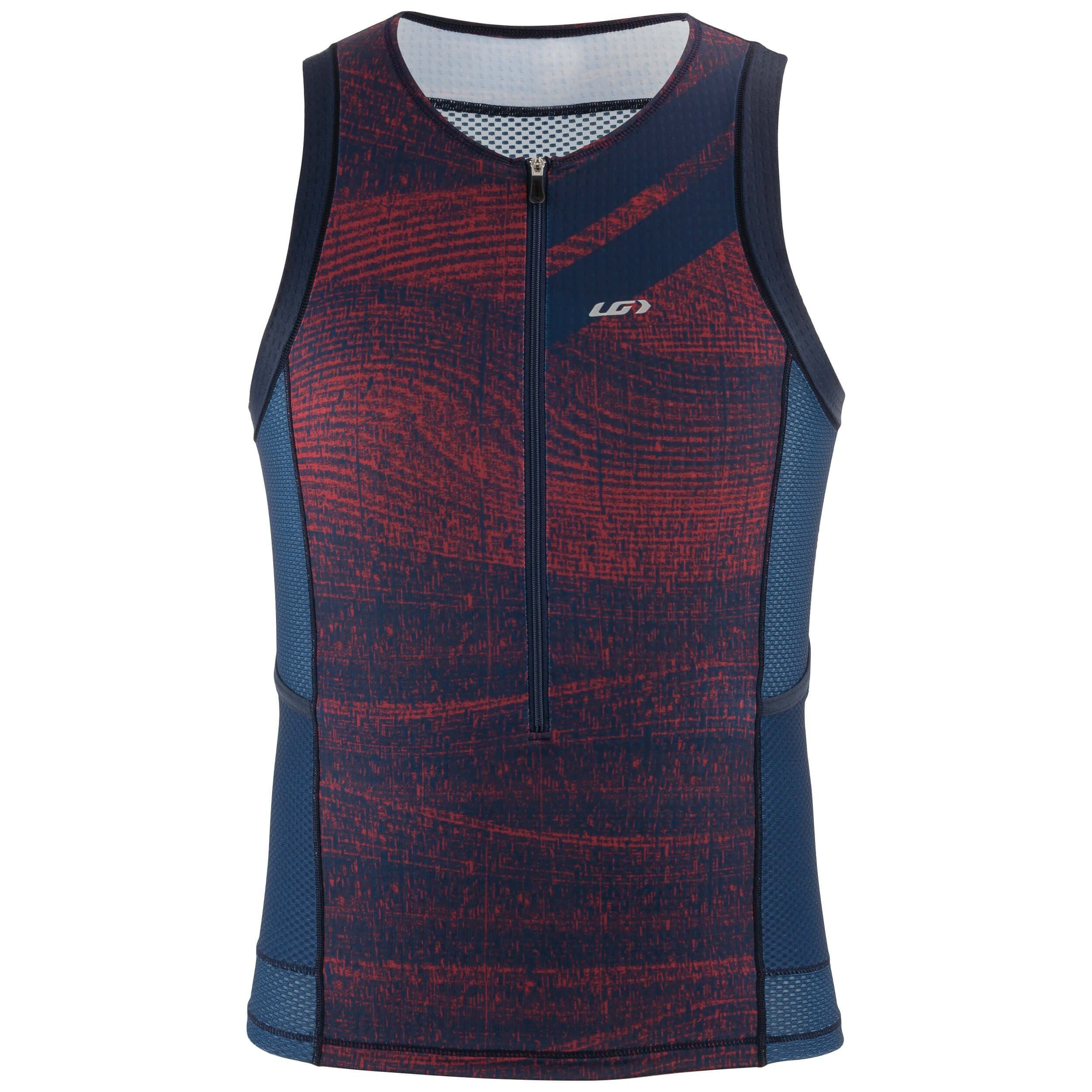 2020 Garneau Men's Vent Tri Top Sleeveless