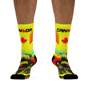 Open image in slideshow, Crazy Canuck Socks