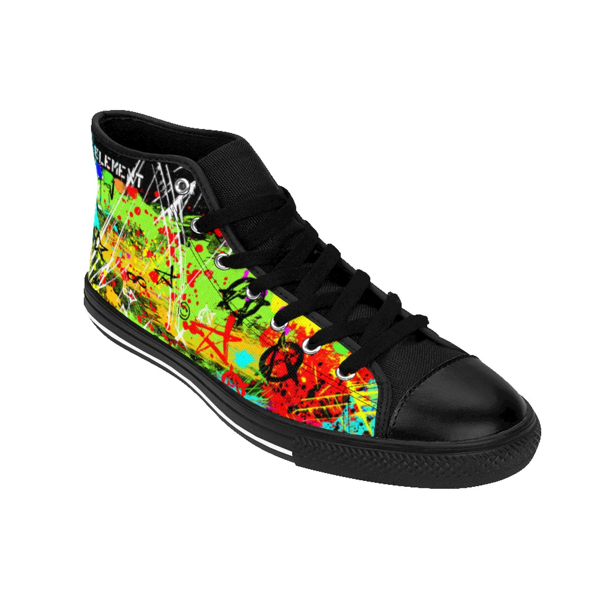 Peace & Anarchy High-top Sneakers