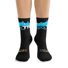 Load image into Gallery viewer, YEG Tri Socks (Black)