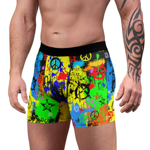 Open image in slideshow, Peace & Anarchy Boxer Briefs
