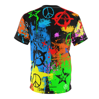 Peace & Anarchy  Tee