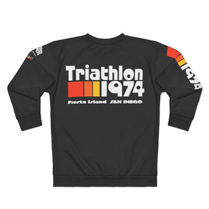 Triathlon 1974 Unisex Sweatshirt