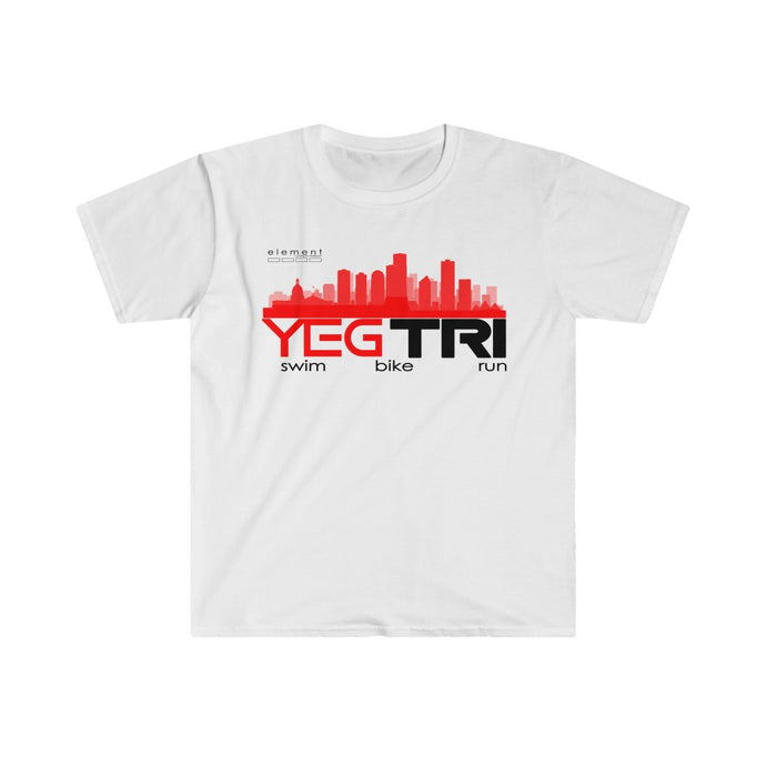 YEG Tri  Fitted  Tee