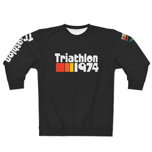 Open image in slideshow, Triathlon 1974 Unisex Sweatshirt