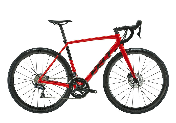 Felt FR Advanced Road Bike, Shimano Ultegra Di2, Plasma Red/Textreme