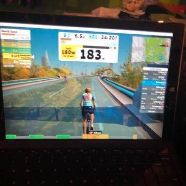 Zwift screenshot - Elise