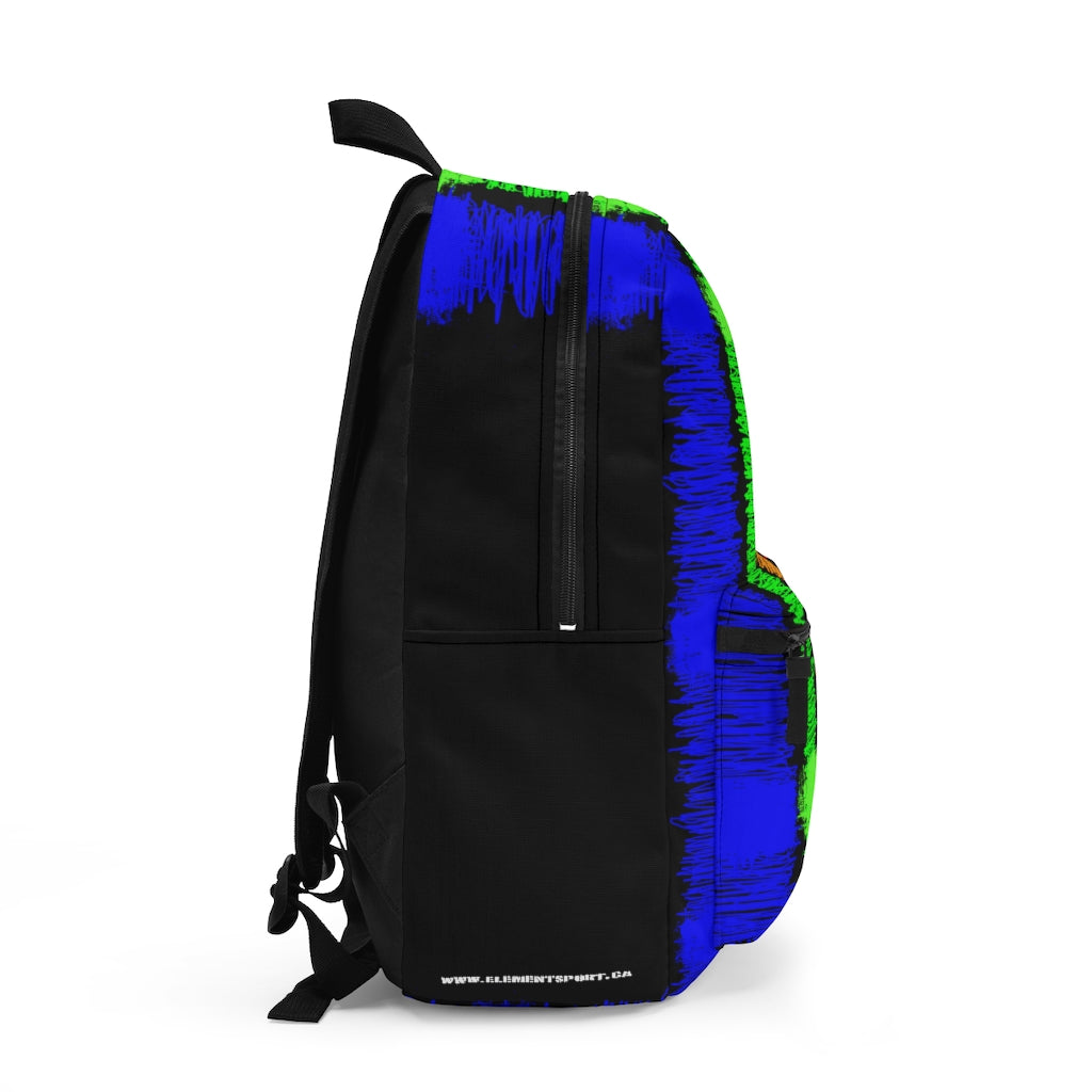 Scribble Print Backpack (Made in USA)