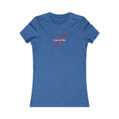 Women's I Love My Bike (& about 3 other people) Tee