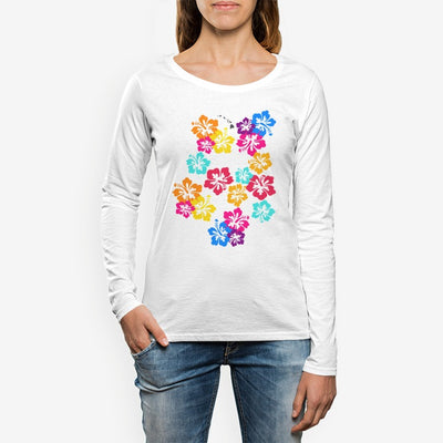 Women's Aloha Crew Neck Long sleeve T-shirt